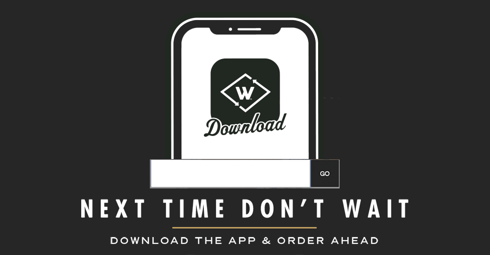 Introducing the new Wayback App. Make any purchase and we'll send you a free burger.
